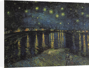 Sternennacht, 1888 by Vincent Van Gogh