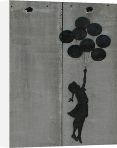 Balloon Girl by Street Art