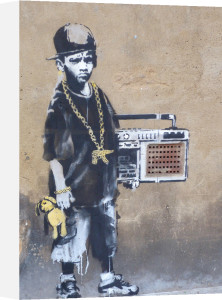 Ghetto Boy by Street Art