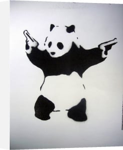 Pandamonium by Street Art