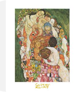 Death and Life by Gustav Klimt