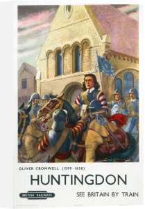 Huntingdon - Oliver Cromwell by National Railway Museum