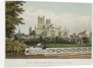 East View of Ely from the Railway by National Railway Museum