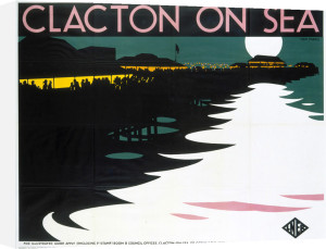 Clacton On Sea - Moonlight by National Railway Museum