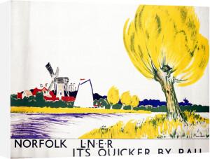 Norfolk - Yellow Tree by National Railway Museum