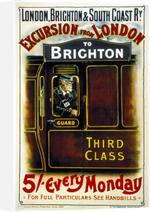 Excursion from London to Brighton by National Railway Museum