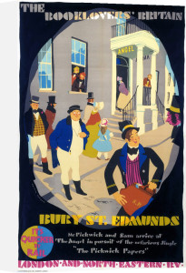 The Booklovers' Britain - Bury St Edmunds by National Railway Museum