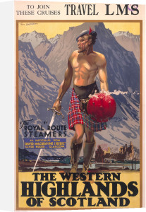 The Western Highlands of Scotland by National Railway Museum
