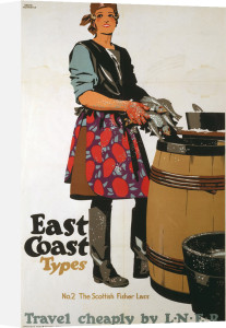 East Coast Types - Scottish Fisher Lass by National Railway Museum