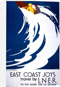 East Coast Joys - Sea Sports by National Railway Museum