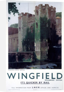 Wingfield Castle, Suffolk by National Railway Museum