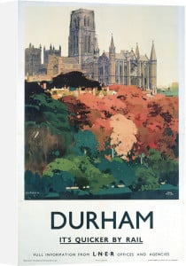Durham - Trees and Cathedral by National Railway Museum