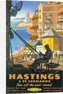 Hastings & St Leonards - Repairing Nets by National Railway Museum