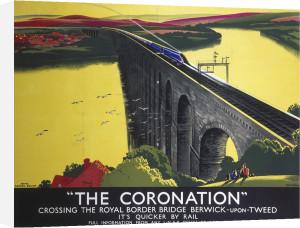 The Coronation - Crossing Royal Border Bridge by National Railway Museum