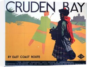 Cruden Bay - Golf Bunker by National Railway Museum