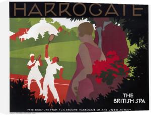 Harrogate - Tennis by National Railway Museum
