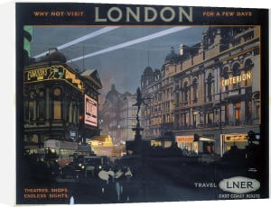 London - Piccadilly Circus by National Railway Museum