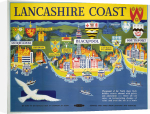 Lancashire Coast by National Railway Museum