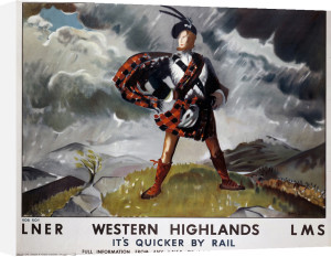 Western Highlands - Rob Roy by National Railway Museum