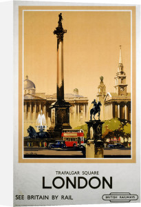 London - Trafalgar Square by National Railway Museum