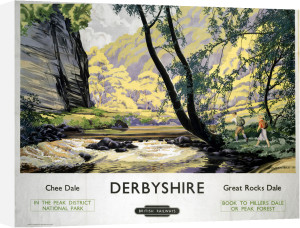 Derbyshire - Chee Dale, Great Rocks Dale by National Railway Museum