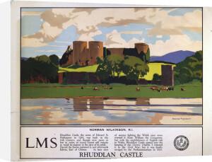Rhuddlan Castle by National Railway Museum