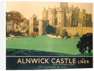 Alnwick Castle by National Railway Museum