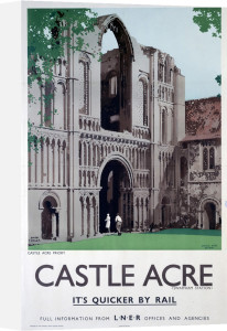 Castle Acre Priory by National Railway Museum