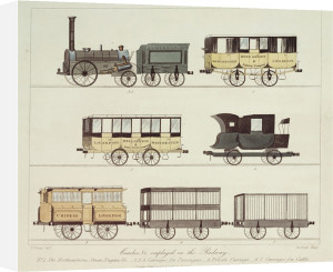 Historic Railway Coaches by National Railway Museum