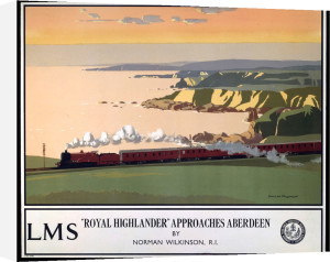 Royal Highlander Approaches Aberdeen by National Railway Museum