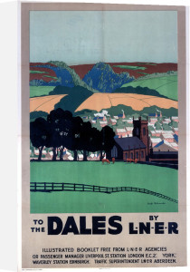 To the Dales by LNER by National Railway Museum