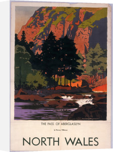 North Wales - Pass of Aberglaslyn by National Railway Museum