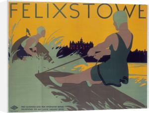 Felixstowe - Waterskiing by National Railway Museum