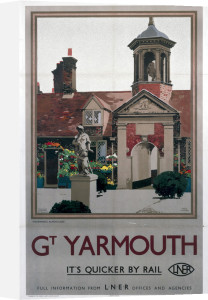 Great Yarmouth - Fishermen's Almshouses by National Railway Museum