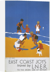 East Coast Joys - Safe Sands by National Railway Museum