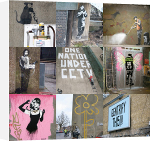 Banksy - Collage I by Panorama London