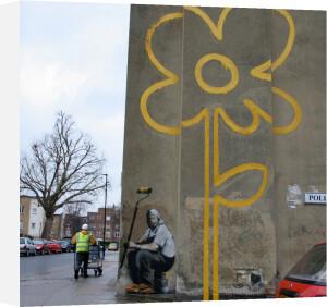Banksy - Flower by Panorama London