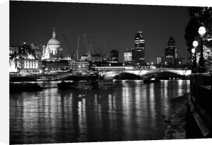 From Waterloo - Night by Panorama London