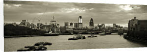 Panorama Waterloo 1 (Sepia) by Panorama London