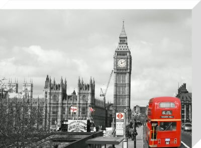 Westminster (B&W) by Panorama London
