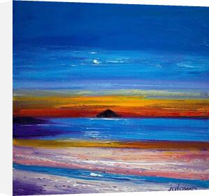 Moorise, Ailsa Craig by John Lowrie Morrison