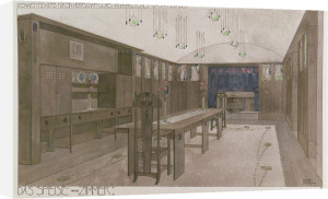 Design for a Dining Room by Charles Rennie Mackintosh