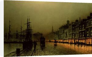 Greenock Docks by John Atkinson Grimshaw