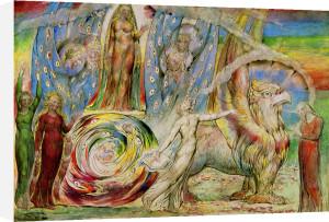 Dante by William Blake