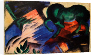 Green Horse by Franz Marc