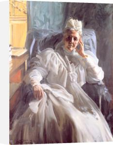 Portrait of Queen Sophie of Sweden and Norway 1908 by Anders Leonard Zorn