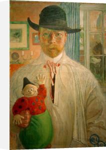 Self-examination 1906 by Carl Larsson