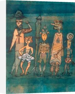 Masks 1923 by Paul Klee