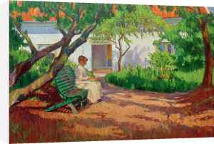 In the Garden 1913 by Karl Nordstrom