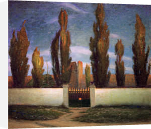 Tystnad (Calm) 1893 by Richard Bergh